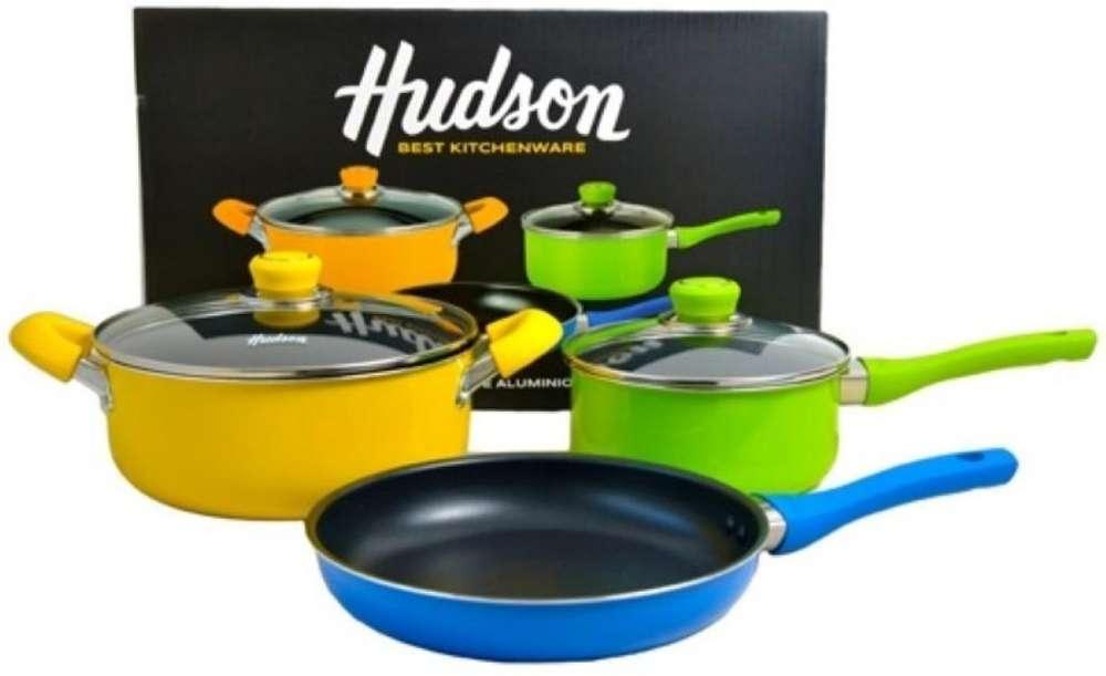 Bateria Teflon Hudson Multicolor