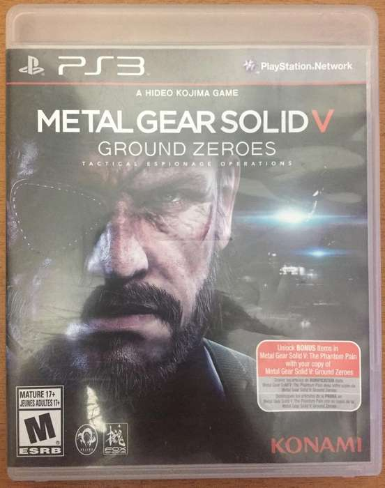 Metal Gear Solid V Ps3