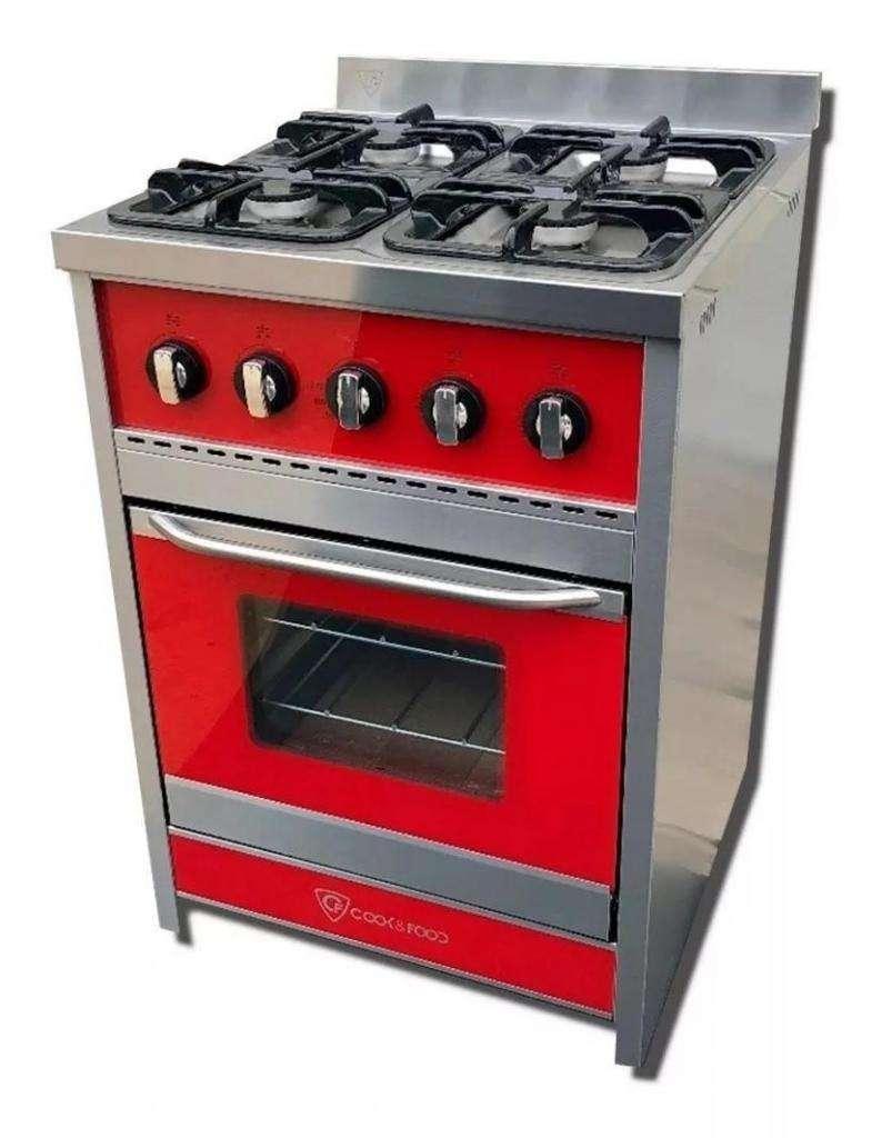 Cocina Cook&Food Chiara 60 Roja