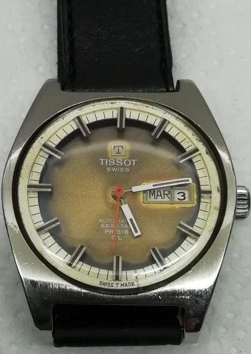 Reloj Tissot Seastar Pro516 Gl Automatico