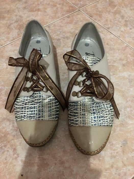 Zapatos de Cuero T37