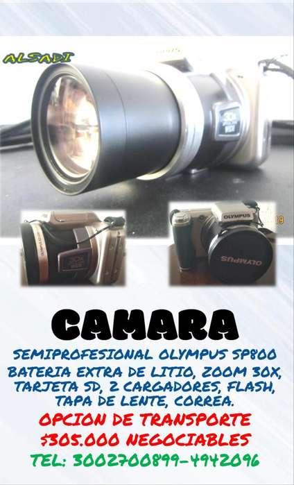 CAMARA SEMIPROFESIONAL <strong>olympus</strong> ZOOM 30X ALSADI