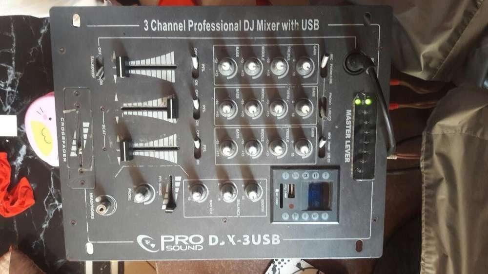 Mescladora de Sonido Pro-sound