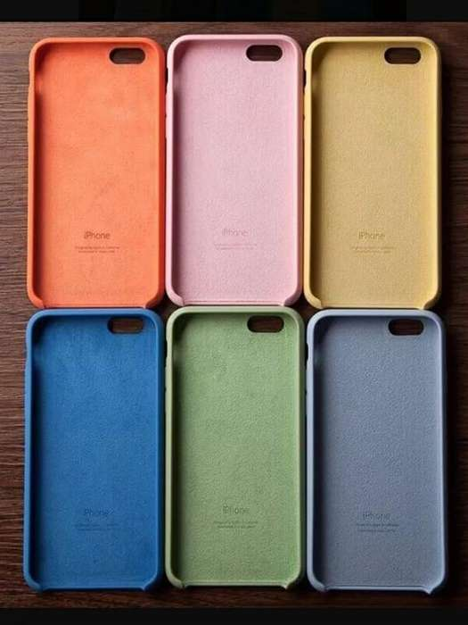be208ee07a7 Funda Silicona iPhone Silicone <strong>case</strong> 54 Colores !