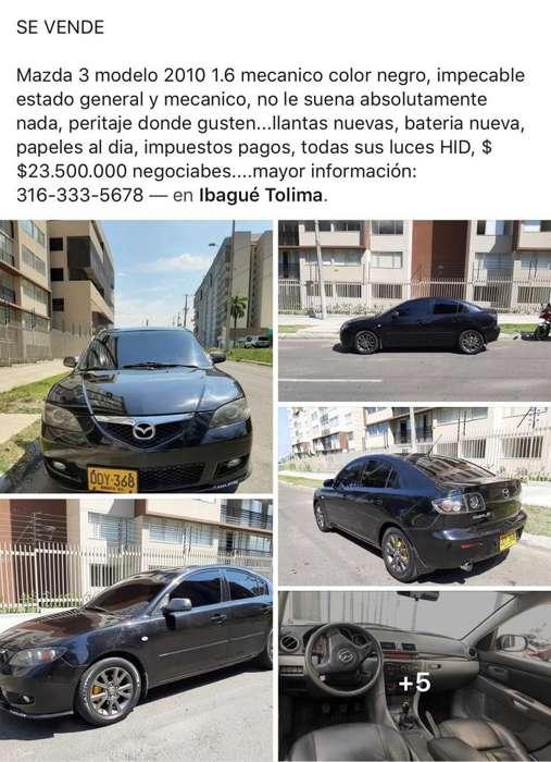 Mazda 3 2010 - 70000 km