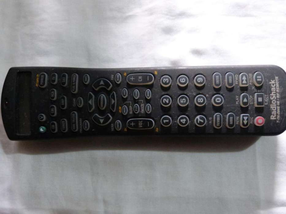 radioshack 7in one ir/rf remote