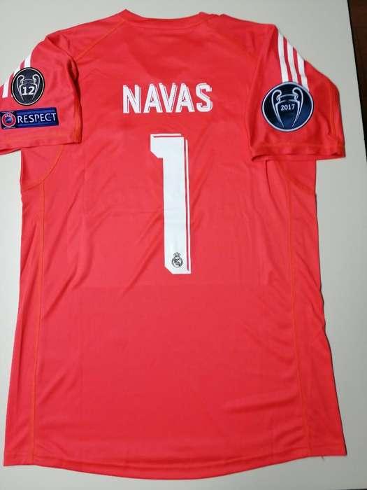 Camiseta Real Madrid Arquero Navas