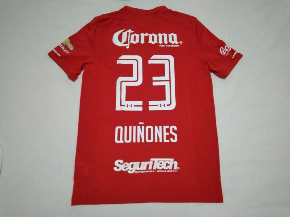 camiseta Luis Quiñones (Tigres, Pumas, Santa Fe), Toluca 2017/18 nueva, acepto cambios