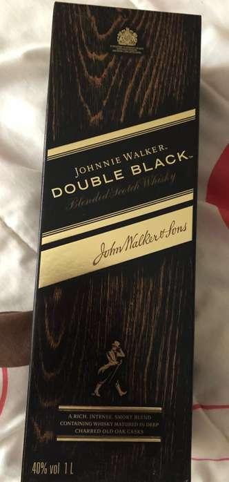 Jhonnie Walker Double Black