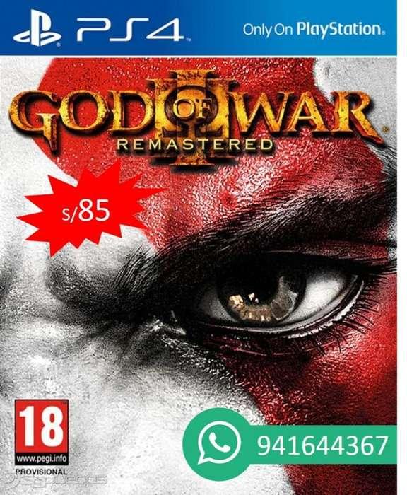 God War 3 Ps4