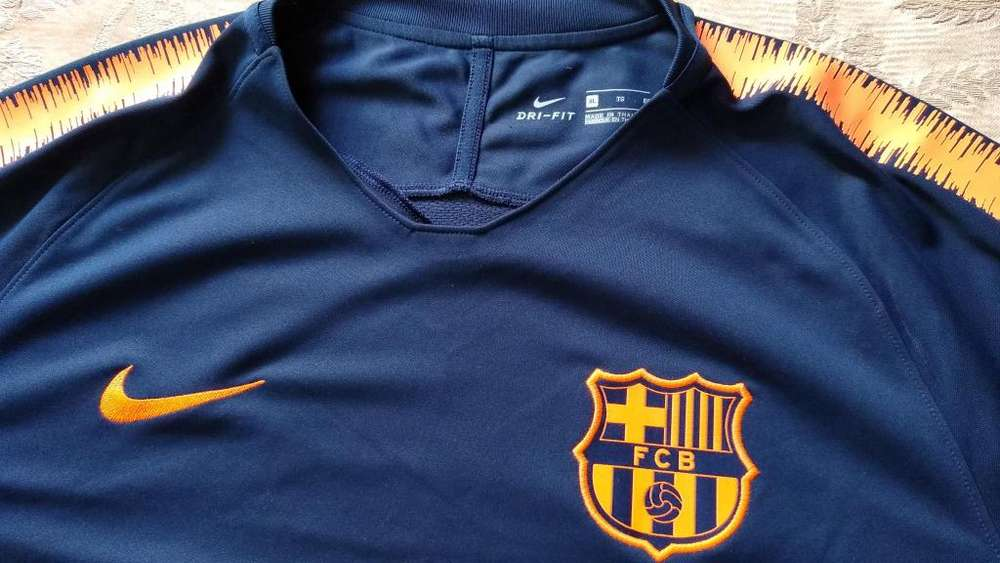 Camiseta entrenamiento Barcelona futbol Nike