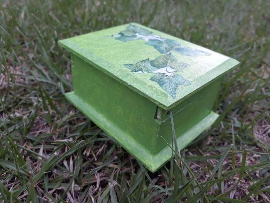 Caja con Diseño Enredadera