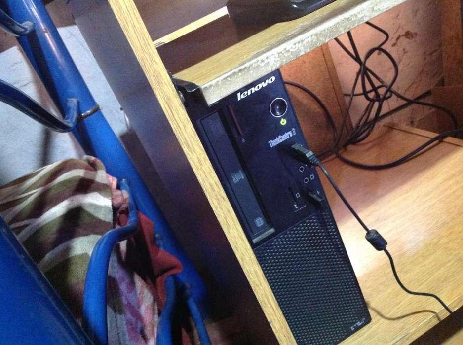 pc escritorioi3monitorteclado y mouse