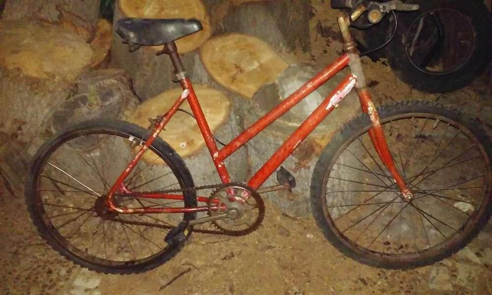 bicicleta rodado 24 lista para usar o restaurar