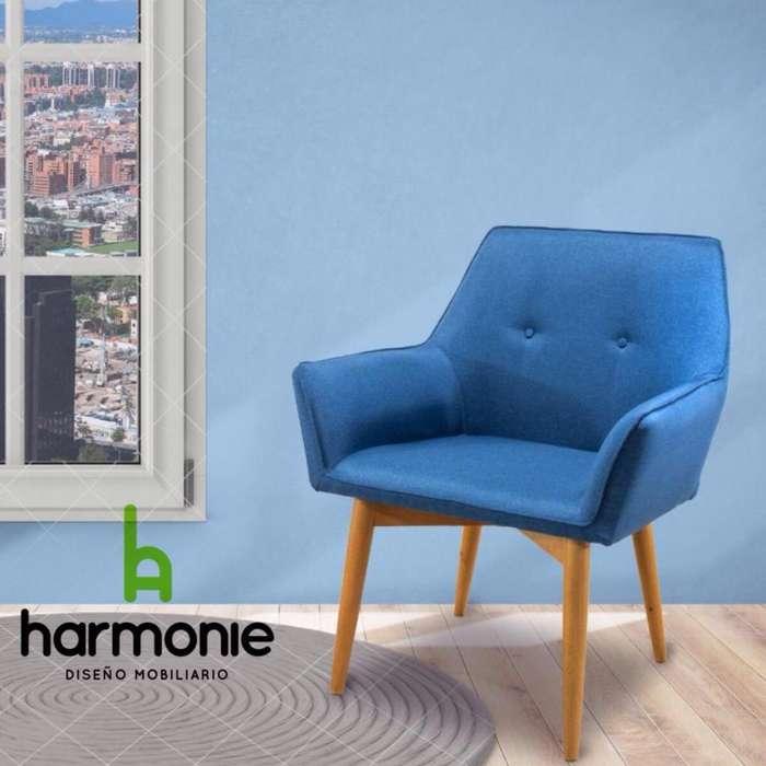 Hermosa y comoda silla en el color que quieras.