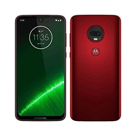 Celular Motorola G7 Plus 64gb Rojo