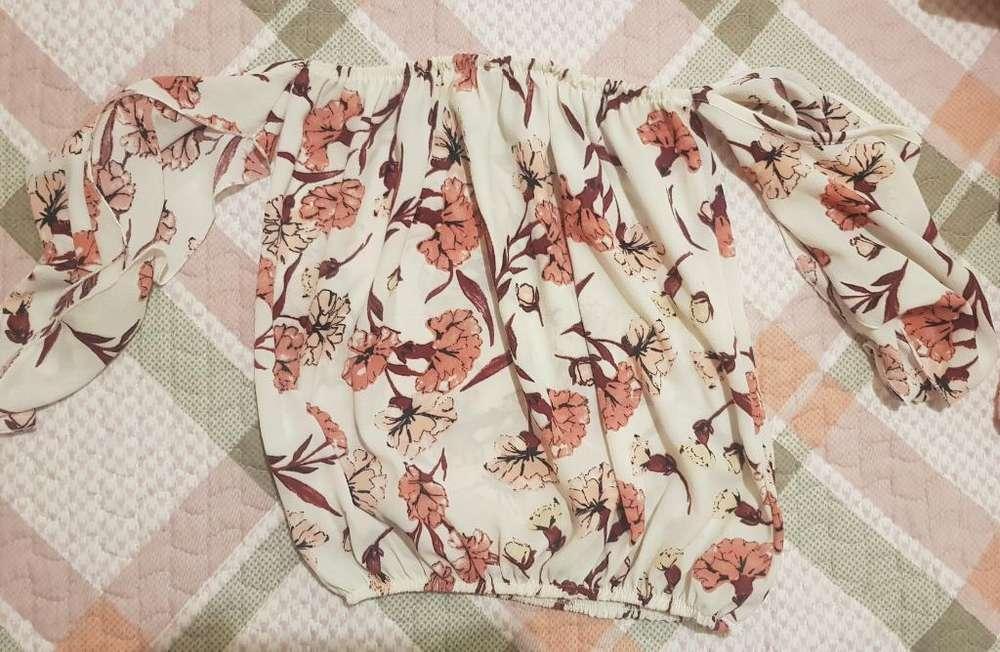 Blusa Escotada
