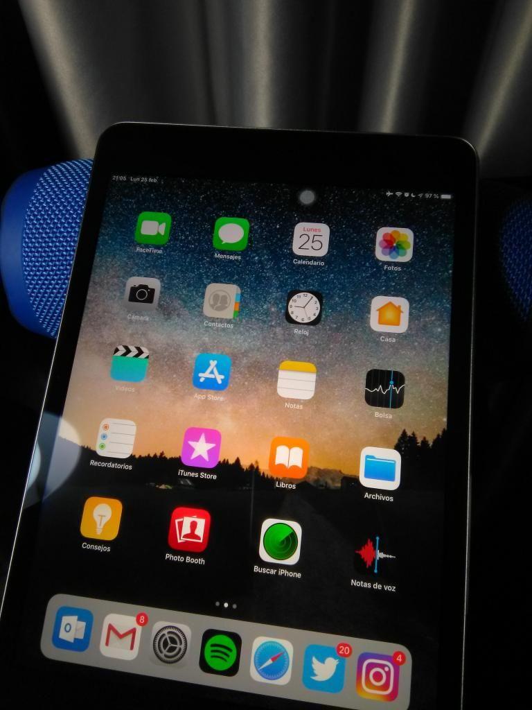 iPad mini 4 128gb como nuevo