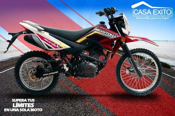 Moto Daytona Dy150 Eagle III 150cc Año 2019 Color Rojo / Azul / Negro Casa Éxito
