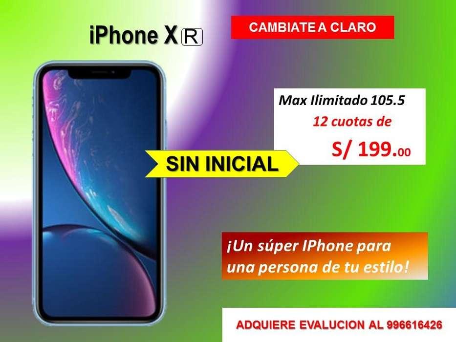 iPhone Xr Claro Portabilidad Postpago solo postpago desde cero inicial