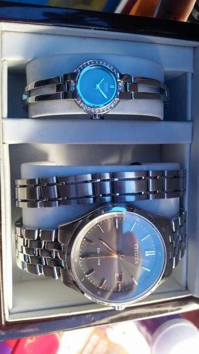 Vendo Reloj Citizen Eco Drive para Parej