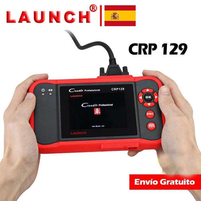 Escaner Automotriz Launch CRP129 2018 escaner x431Casi todas las Marcas ABS Airbag Caja