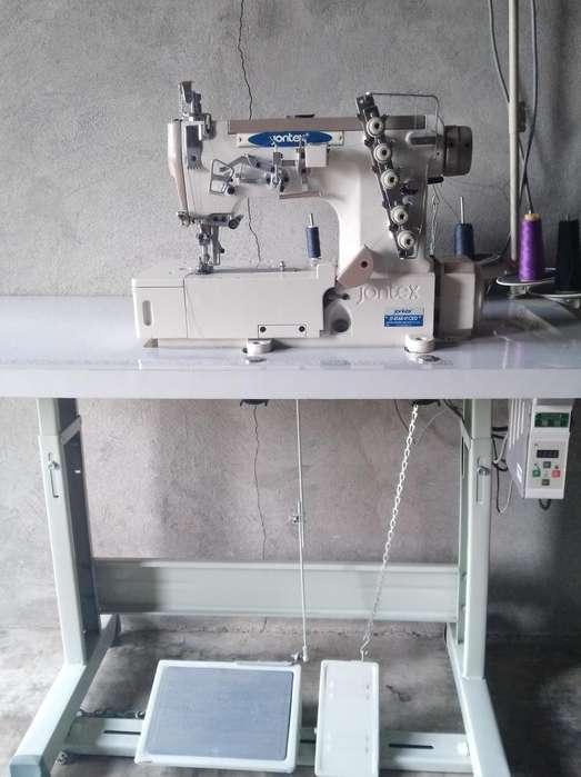 Mquina de coser industrial