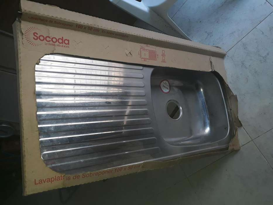 Vendo lavaplatos de sobreponer 120 mil pesos