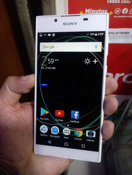 Vendo Sony L1 Leve Mancha D Resto Bien