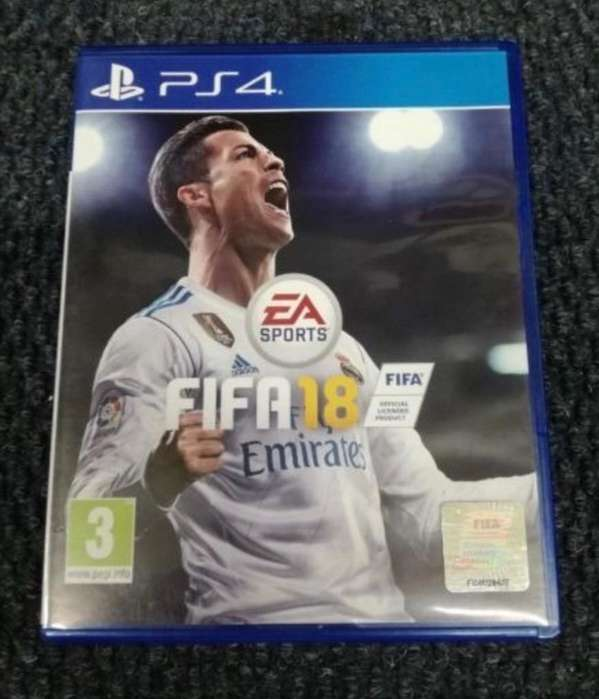 Juego Fifa 2018 Ps4 Play 4 Fisico
