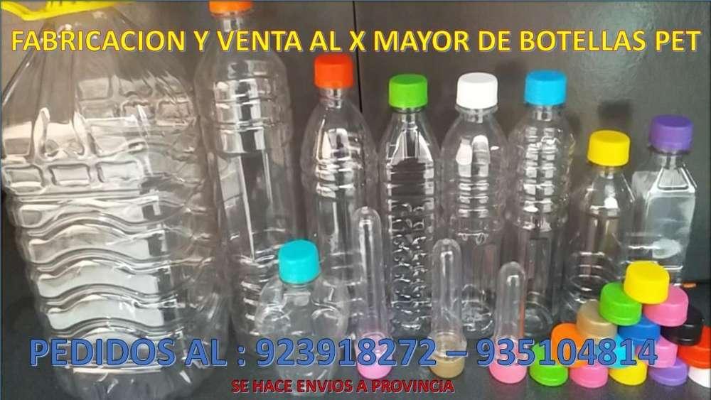Venta de Envases Plastico Pet