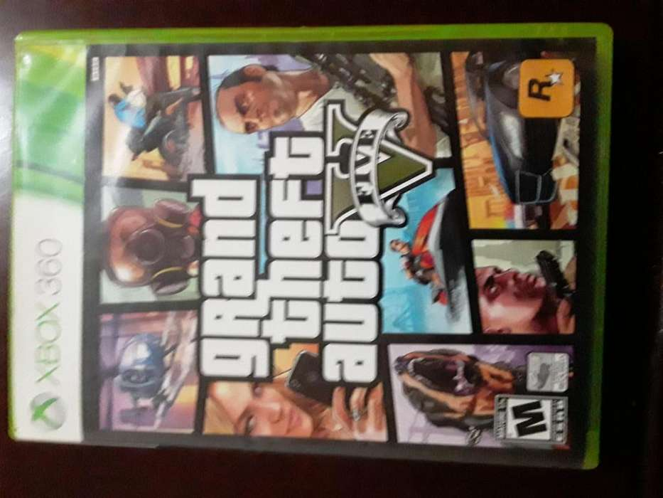 GRAND THEFT AUTO V - XBOX 360 - JUEGO ORIGINAL
