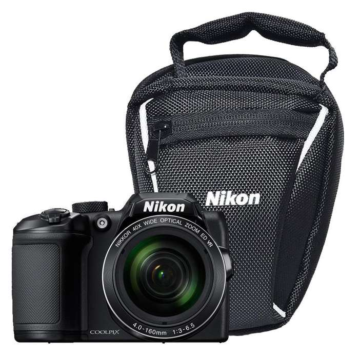 Cámara Digital Compacta Nikon B500 Negro.
