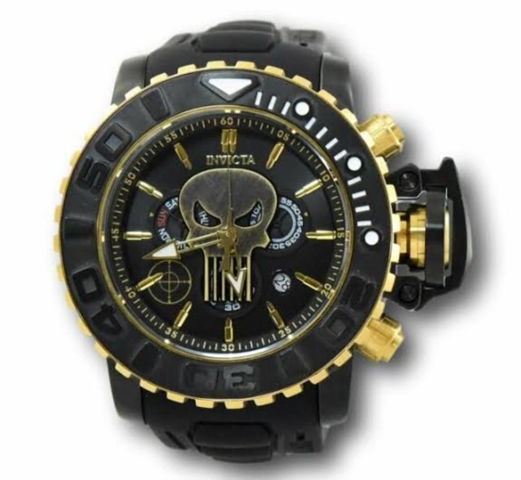 Invicta Marvel Punisher 58mm Sea Hunter