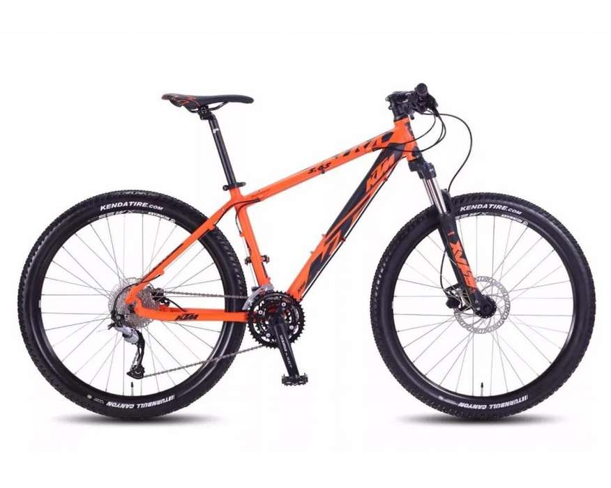 Bicicleta Ktm 5.65 27.5 Mod 2018