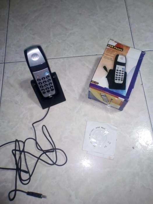 Teléfono Voz IP Portatil USB Phone UP10 <strong>voip</strong> 45mil whatsapp 3002007980