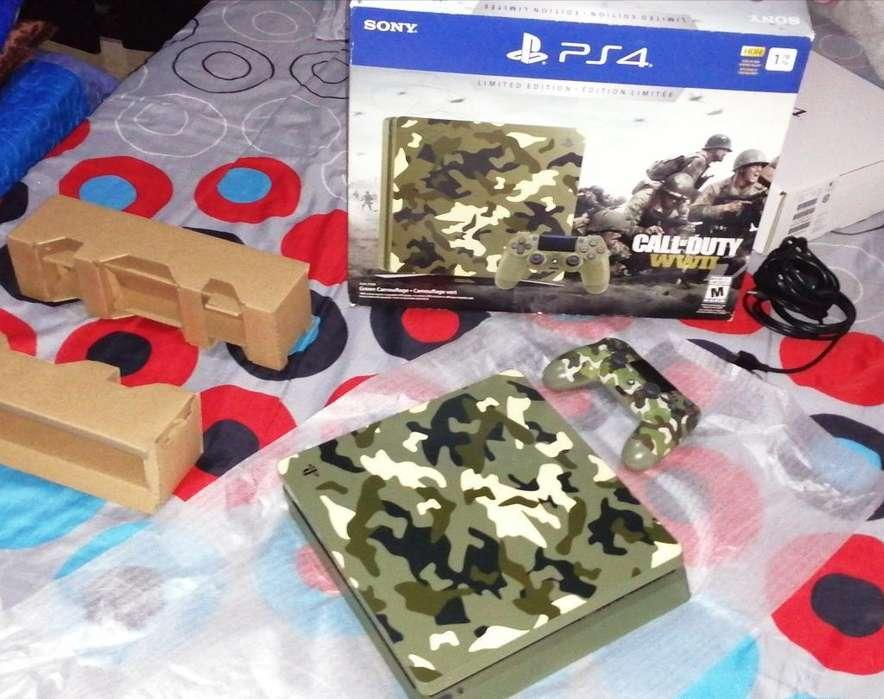 Playstation 4 Slim de 1tera con Juegos