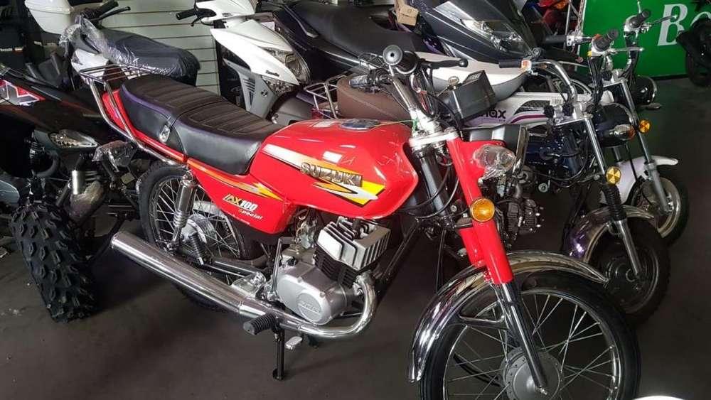 <strong>suzuki</strong> AX 100CC 0Km... OFERTAS DE CONTADO!!!