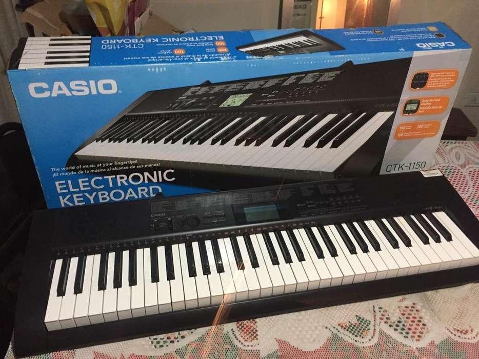Piano Electrico Casio Ctk 1150 Nuevo
