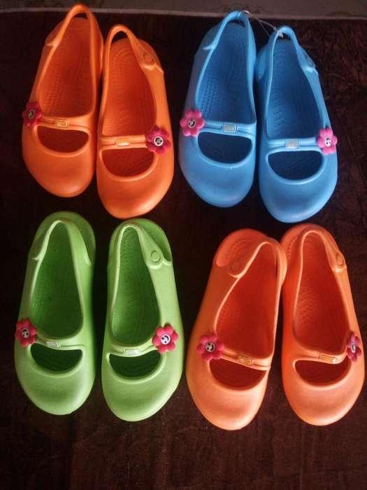 Zapato para Niña Tipo Americano Crocs