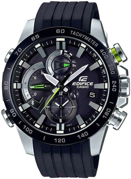 Reloj Casio Edifice Eqb-800 Smart Watch Bluetooth Solar