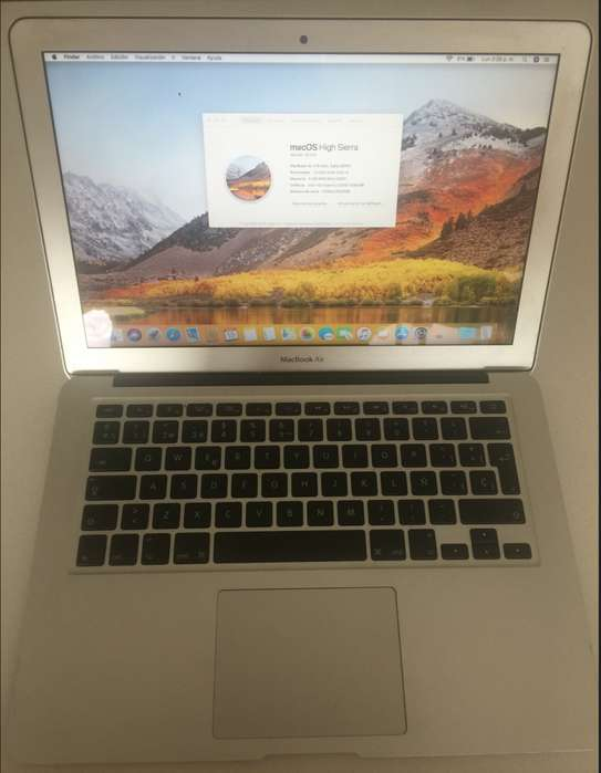 Macbook Air 13 Core I5 128 G Mod 2014 Impecable (rebajado)
