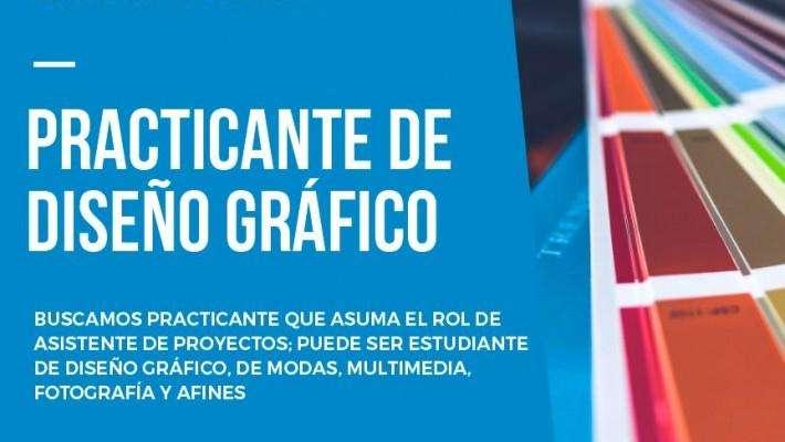 PRACTICANTE DE DISEÑO GRAFICO