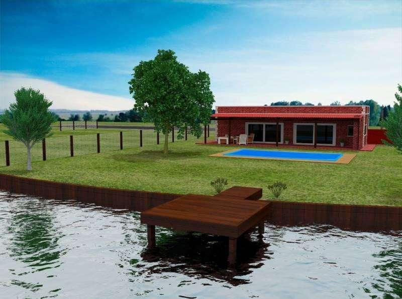 Susana Aravena Propiedades FV Vende casa a estrenar a la laguna con piscina en San Sebastian Area 8