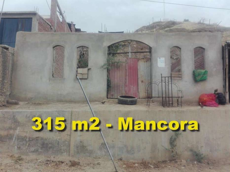 OCASIÓN VENDO Terreno de 315 mt2 en MANCORA - PIURA