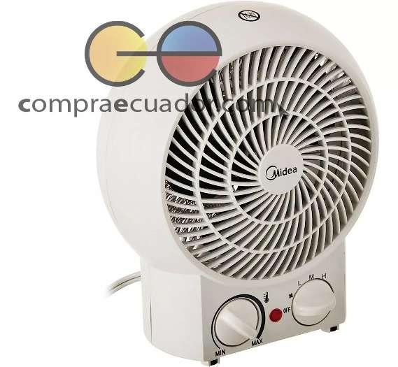 Midea Calefactor Y Ventilador 3 Velocidades Sistema Segurida
