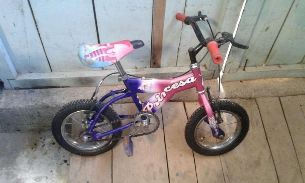 Vendo bici nia princess numero 12