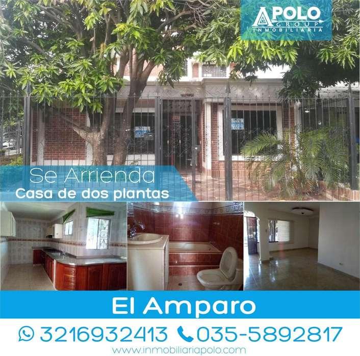 Se Arrienda <strong>casa</strong> de esquina en el barrio el amparo