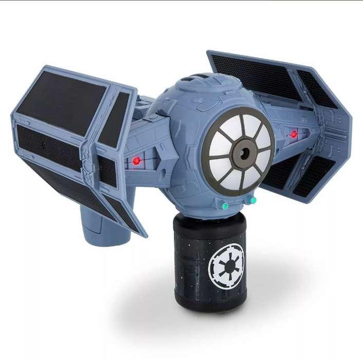 Star Wars - Darth Vader Tie Fighter - Lansador De Burbujas