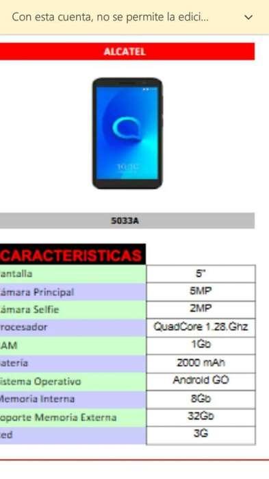 Vendo Alcatel 5033a Nuevo